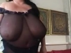 Granny big beautiful woman Mega Large Titties