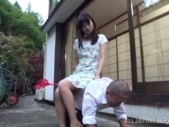 Emiko Ejima mature Asian housewife is a dominating chick
