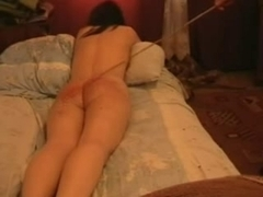 Hotty caned at home