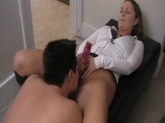 Shannon - Dong in Chastity and this chab has to take up with the tongue her wet crack