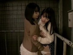 Japanese Lesbian Girlfriend Play