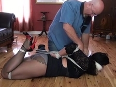 Beauty, pantyhose and ropes 2