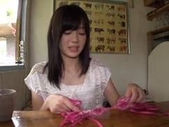 Pretty Rina Ooshima Asian doll is fucked hard