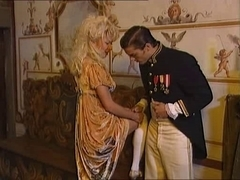 Napoleon themed vintage European porn movie