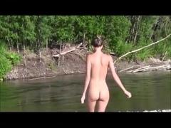 Russian girl Katya - Summer