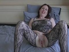 Masturbation with vibrator.