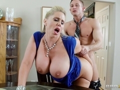 Mommy Got Boobs: Milf Swap. Karen Fisher, Sammy Brooks, Bill Bailey