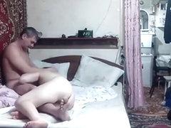 Russian girl couple homemade  sextape
