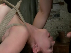 Blue Eyed Beauty Sarah Shevon Challenged Classic HogTied Style