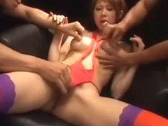 Exotic Japanese girl in Fabulous Blowjob/Fera, Fingering JAV movie