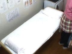 Medical voyeur video starring an Asian hottie