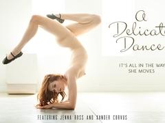 Jenna Ross & Xander Corvus in A Delicate Dance Video