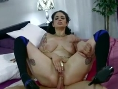 She enjoys being fucked in the ass