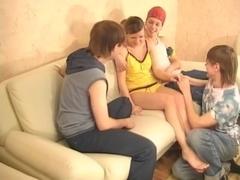 juvenile rus- group sex