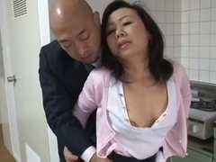 Aged Japanese mother Craves son's ally Dick (Censored)