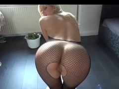 Superb anal and facial with freaking hot german blonde girl