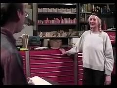 Granny Anastasia Bonks the Mechanic
