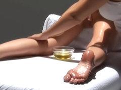 a nice massage girl to girl