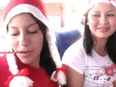 Yougn slim latina beauty Juliana gets very naughty