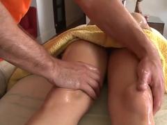 Hot erotic massage with passionate Rachel Roxxx