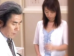 Savory Japanese moans while dicked during the Gyno exam