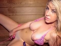Vanessa X - Hot Pussy in the Sauna