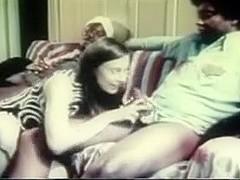 Vintage Interracial Episode White Angel Engulfing Dark Weenie