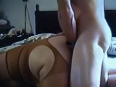 Big fat cock drilling my wet  bun