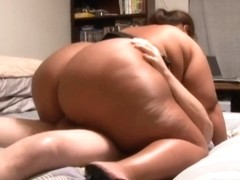 Anal Large A-Hole Rosa Martinez Receives Arse Drilled