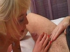 French little blond anal POV