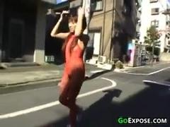 Japanese Girl Naked In Public