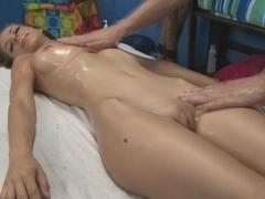 Presley receiving massage.., pussy massage