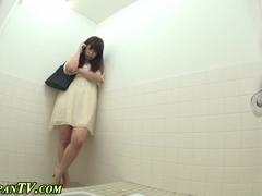 Asian hos ### in toilet