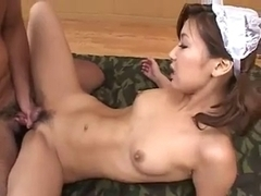 double penetration for japanese maid part three.