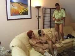 Two mature women and man - 3