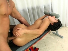 Anal-Pantyhose Movie: Subrina and Dorian