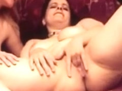2 hot bulky aged ladies playing