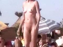 Public foreplay fun in voyeur compilation
