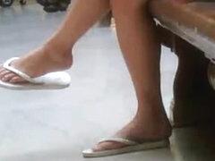 Candid Teen Feet #1