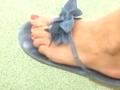 spy sexy feet