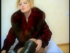 Porn movie with kinky boot fetish