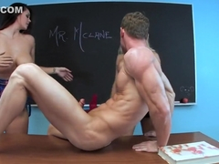 Fabulous pornstar Nikita Von James in crazy cunnilingus, big tits adult movie