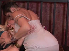 Amazing pornstars in Incredible Lesbian, Blonde xxx video