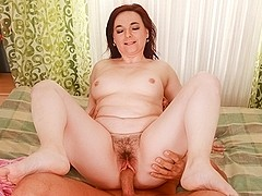 Dominika A & Steve Q in My Hairy Cream Pie #16 Video