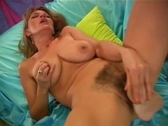 curly woman masturbation