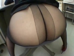 JAPAN PANTYHOSE ASS -bymn