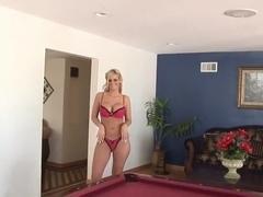 Phoenix Marie sucking hard fat cock