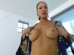 Hawt mother I'd like to fuck copulates younger fella