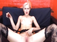 Incredible Amateur record with Stockings, Blonde scenes