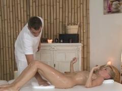 Crazy pornstars Steve, The Body XXX, Irina K in Horny Blonde, Massage porn movie